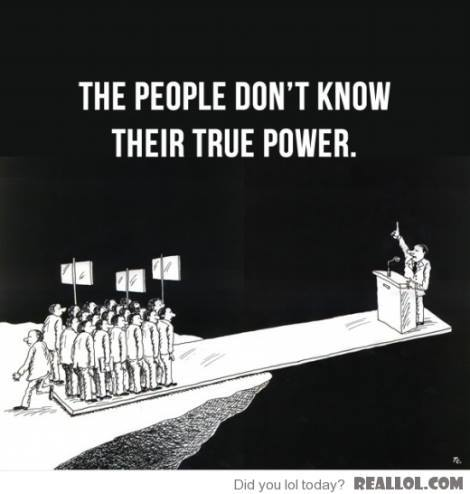 people dont know their power